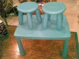 100 Playskool Plastic Table And Chairs MyBundleToys IKEA Mammut Blue Set