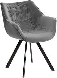 invicta interior design stuhl the comfort samt greige