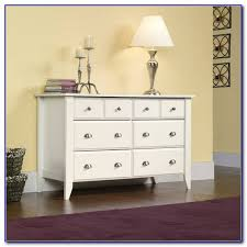 sauder shoal creek dresser soft white finish dresser home