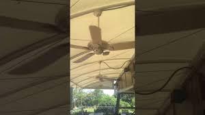 Ceiling Fan Wobble Kit by Wobbly Casablanca Lanai Ceiling Fan 3 Youtube