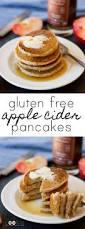 Vegan Bisquick Pumpkin Pancakes by Gluten Free Apple Cider Pancakes Vegan U2022 The Fit Cookie