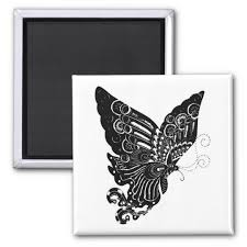 Chinese Paper Cut Butterfly Design