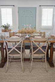 Dining Room Table Leaf Replacement by Easy Summer To Fall Dining Room Refresh Fox Hollow Cottage