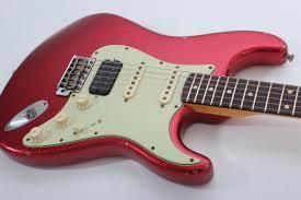 Fender Custom Shop 60 Stratocaster HSS Relic Apple Red Flake