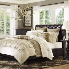 Hudson Park Bedding by Gramercy Park Elise Mini 3 Piece Ivory Comforter Set Bed U0026 Bath