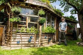 shed of the year 2014 winner is solar powered eco shack built out