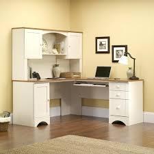 desk 114 sauder harbor view corner desk with hutch dresser