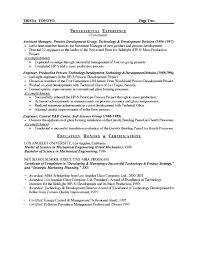 Resume Objective Examples For Manufacturing Kubre Euforic Co Rh Skills