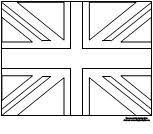 Learning Printables For Kids British Flag