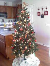 Charlie Brown Christmas Tree Sale Walgreens by Real Christmas Tree 5ft Pre Lit Liberty Pine Decorated Feel Real