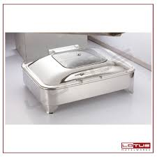 Electric Chafing Dish With Glass Lid