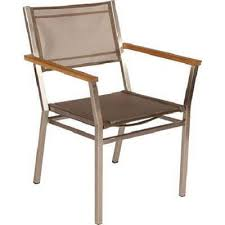 Stacking Sling Patio Chairs by Barlow Tyrie Equinox Stacking Sling Armchair Authenteak