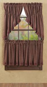 photo of cafe style curtains for kitchen double click on above