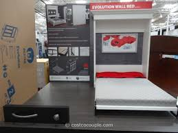 Murphy Beds Costco For Bestar Evolution Queen Size Wall Bed Plan 9