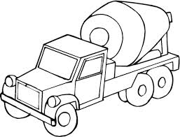 Molen Truck Coloring Pages For Kids Printable Trucks