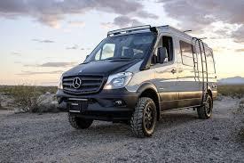 The Retrofitted Mercedes Sprinter Van Has A 30 Liter V6 Diesel Engine