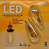 feit bpst19 led the original vintage style bulb 60w edison