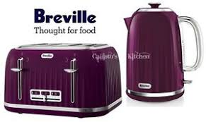 Breville Impressions Kettle And Toaster Set Purple