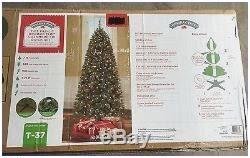 Rotating Pre Lit Christmas Tree Fabulous 7 Brookfield Cashmere Fir Quick Set