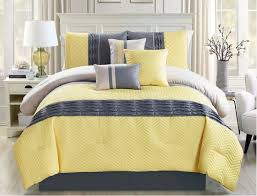 Walmart Chevron Bedding by Nursery Beddings Comforter Sets Queen With Yellow And Gray Queen