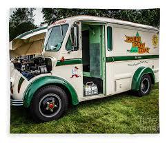 100 Divco Milk Truck For Sale 1965 Fleece Blanket