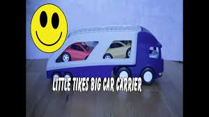 100 Little Tikes Semi Truck Big Car Carrier We Love Cars We Love S YouTube
