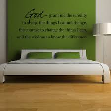 Image Is Loading God Grant Me The Serenity Wall Sticker Bible