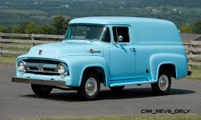 100 1955 Ford Panel Truck 1956 F100 1