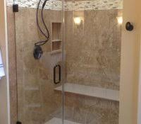 diy shower to tub conversion walk in kit with door turning bathtub