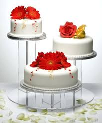 Wedding Cake Stands Glass Display Stand Design Square For Cakes Rustic Uk