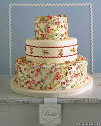 Cake Decoration Ideas With Gems by Red Wedding Cakes Martha Stewart Weddings