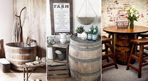 35 Genius Ways People Are Repurposing Whiskey & Wine Barrels ... French Style Bar Stools French Country Cottage Sunny Designs Bourbon County Country Fxible Bar Handcrafted In North America Kitchen And Ding Room Canadel Ding Room Fniture Style 1825 Interiors Three Vintage White Bamboo Stools Tiki Country Pub Height Set 549 Buy 3pc Island Decor Decorating Ideas Fausto 30 Stool Trail 3 Piece Set With Bernhardt