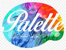 Logo Palette Acrylic Paint Pallet