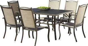 Ez Hang Chairs Fletcher Nc by 7 Piece Arden Patio Dining Set U0026 Reviews Joss U0026 Main