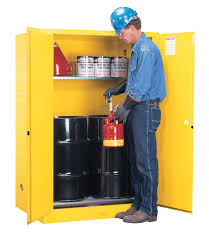 Fireproof Storage Cabinet For Chemicals by Justrite Flammable Liquid Storage Cabinet 37 With Justrite
