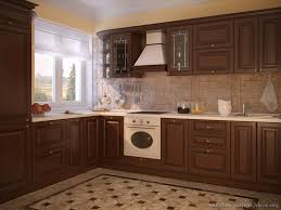Dark Wood Cabinet Kitchens Colors Pictures Of Kitchens Traditional Dark Wood Kitchens Walnut