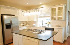kitchen countertop cabinets light bulbs for island height counter
