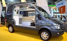 Mercedes Benz Shows The New Sprinters Camping Potential With A Cut Away Concept