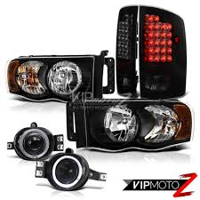2002-05 Dodge Ram Black Halo Headlights+Smoked LED Tail Lamp+ ... Dodge Ram Projector Headlights Truck Car Parts 264191cl Smoke 02017 1500 2500 3500 Headlightsled Tail Lights Light 05 Srt10 Commemorative Edition Hit Rebuildable Amazoncom For 2nd Gen Brbe Smoked Lens Clear Corner Cheap Find Deals On 2016 Ram Rebel By Geigercarsde Used 2008 47l Subway Oled Taillights 264336bk Recon 2017 Rebel Mojave Sand Limited Mopars New Parts Will Make The 2019 Heavily Customizable