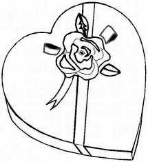 Free Coloring Pages Of Box Candy
