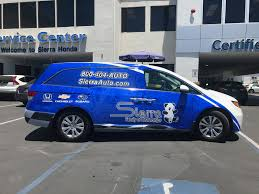 Honda Odyssey Wrap - Fleet Branding | Vehicle Wraps | Large Format ...