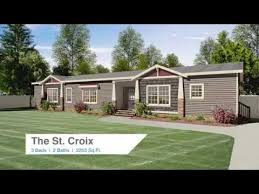 Clayton Homes Norris Floor Plans by The St Croix Youtube