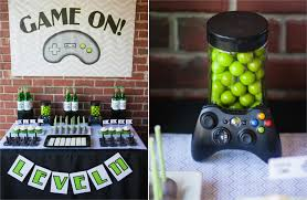 100 Game Truck Birthday Party Video Themed Decorations Ideas