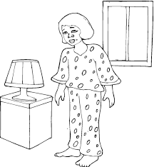 Free Good Night Coloring Pages