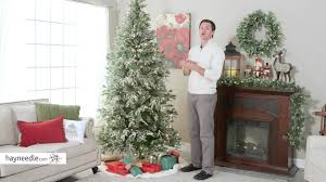 Dunhill Fir Christmas Trees by 7 5 Ft Pre Lit Liberty Pine Christmas Tree Product Review Video