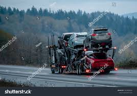 100 Cheap Semi Trucks For Sale Car Transportation By Big Rig Stock Photo Edit Now