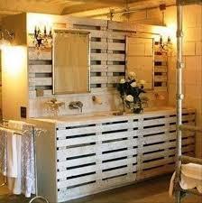 pallet ideas for the bathroom pallets furniture designs