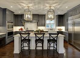 concrete countertops pictures of kitchens with cabinets