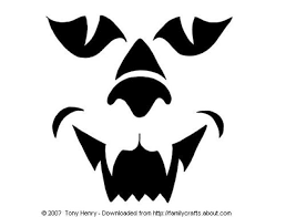 Free Frankenstein Pumpkin Stencil Printables by Cat Face Template Free Download Clip Art Free Clip Art On