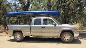 100 Truck Pipe Rack BWCA Hauling A Canoe Boundary Waters Gear Forum